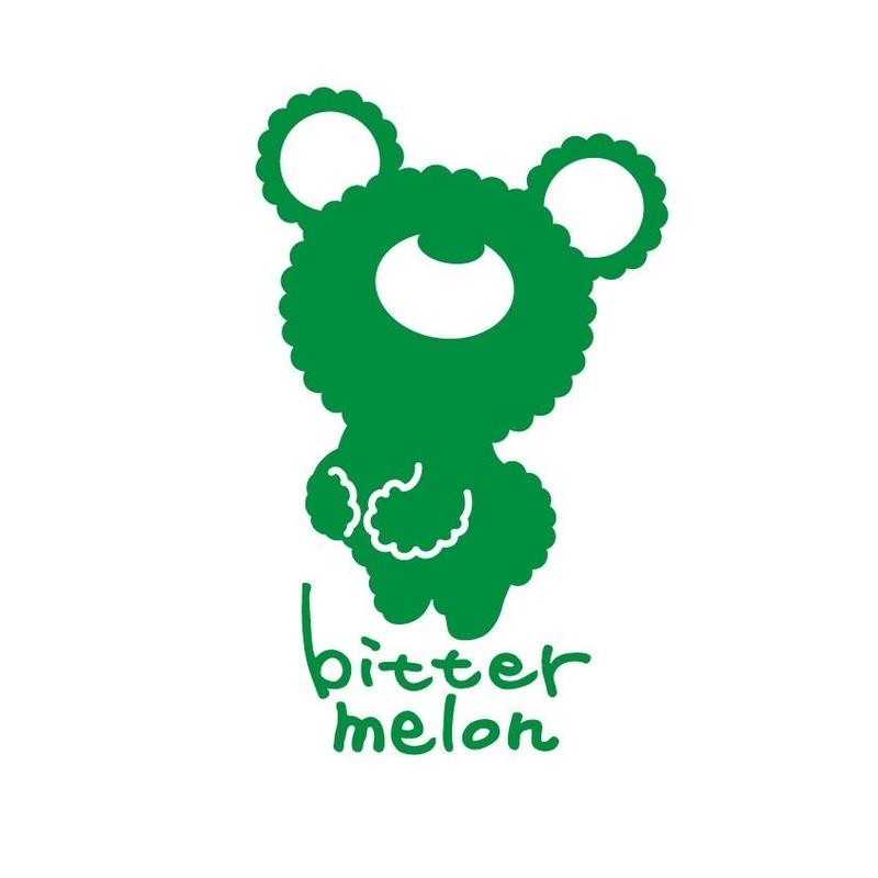 bittermelo Sticker (original green)