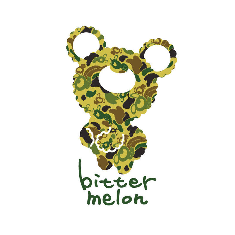 bittermelo Sticker (camoufla green)