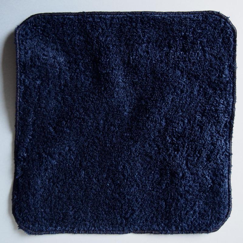 LITTLE SUNSHINE  チーフタオル 23×23cm ダークナイトインディゴ