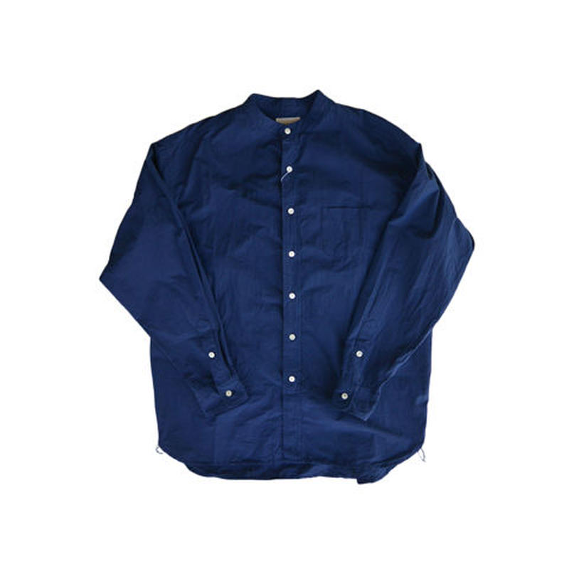 weac.(ウィーク)BIGMAN バンドカラーシャツ NAVY 1(S)