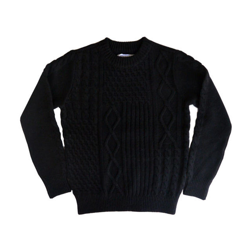 eight days a weac.HUNTER'S KNIT BLACK