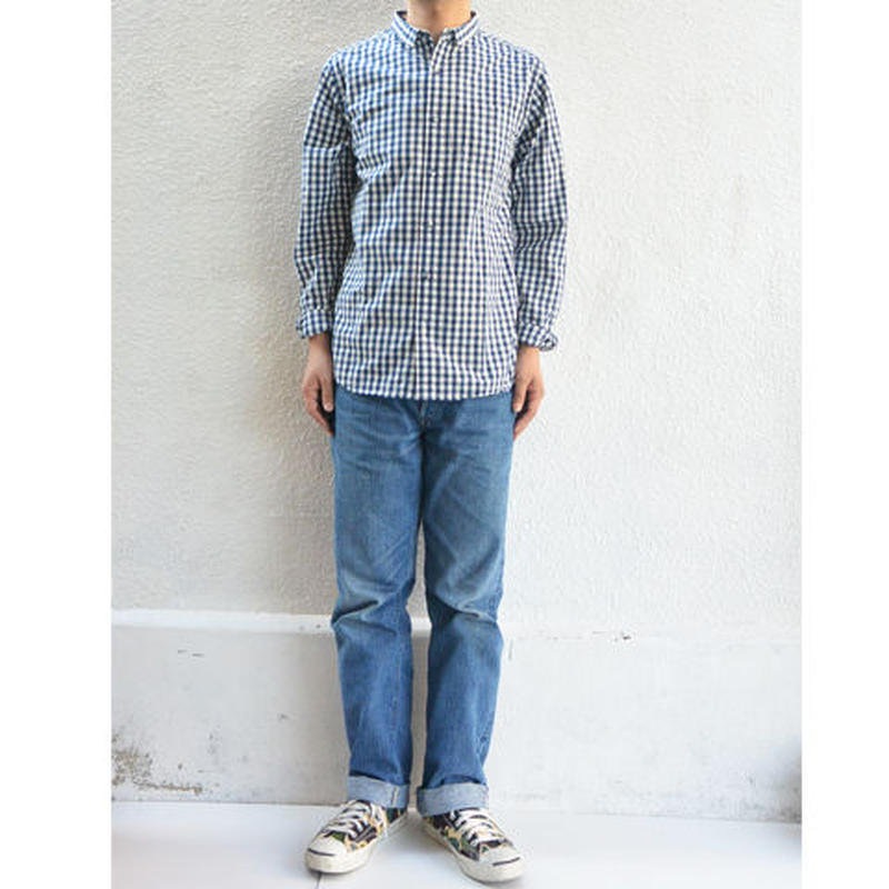 have a good day Basic Gingham Check shirts