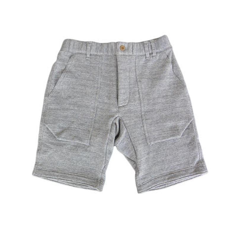 Jackman ジャックマン Sweat Shorts ジャックマンスウェットショーツ JM7806 チャコールボーダー