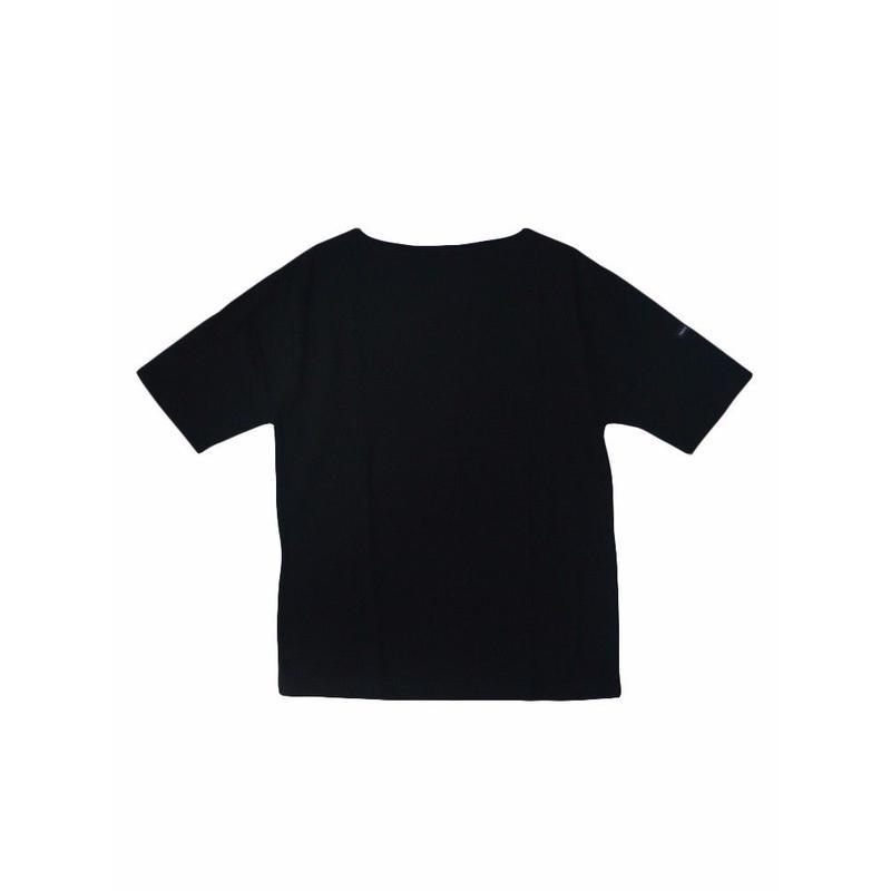 SAINT JAMES(セントジェームス)PIRIAC 無地半袖  NOIR(黒)【正規取扱品】UNISEX