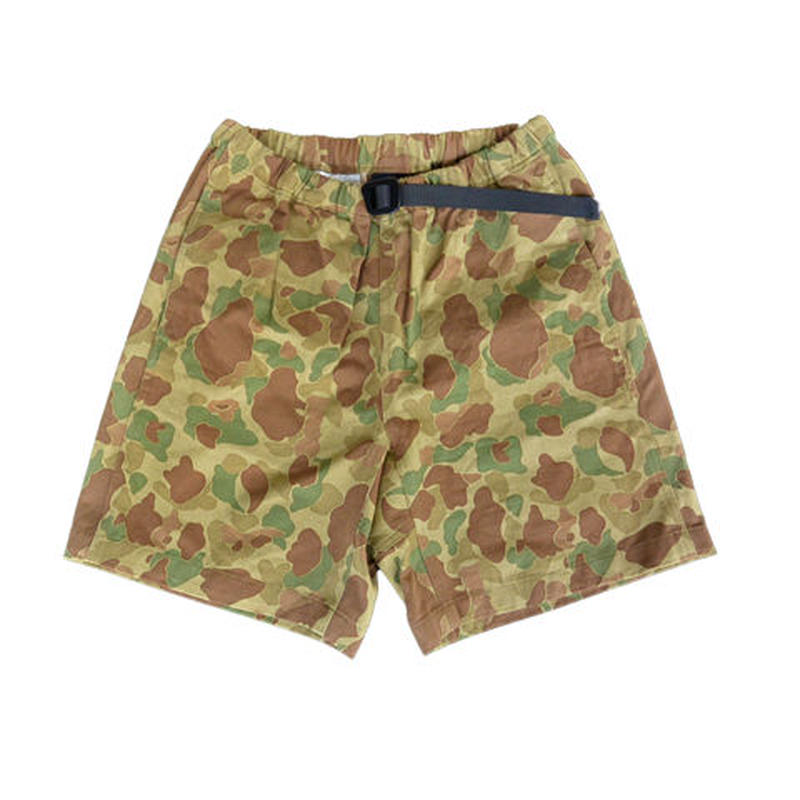 COOCHUCAMP(クーチューキャンプ) HAPPY SHORTS CAMO柄