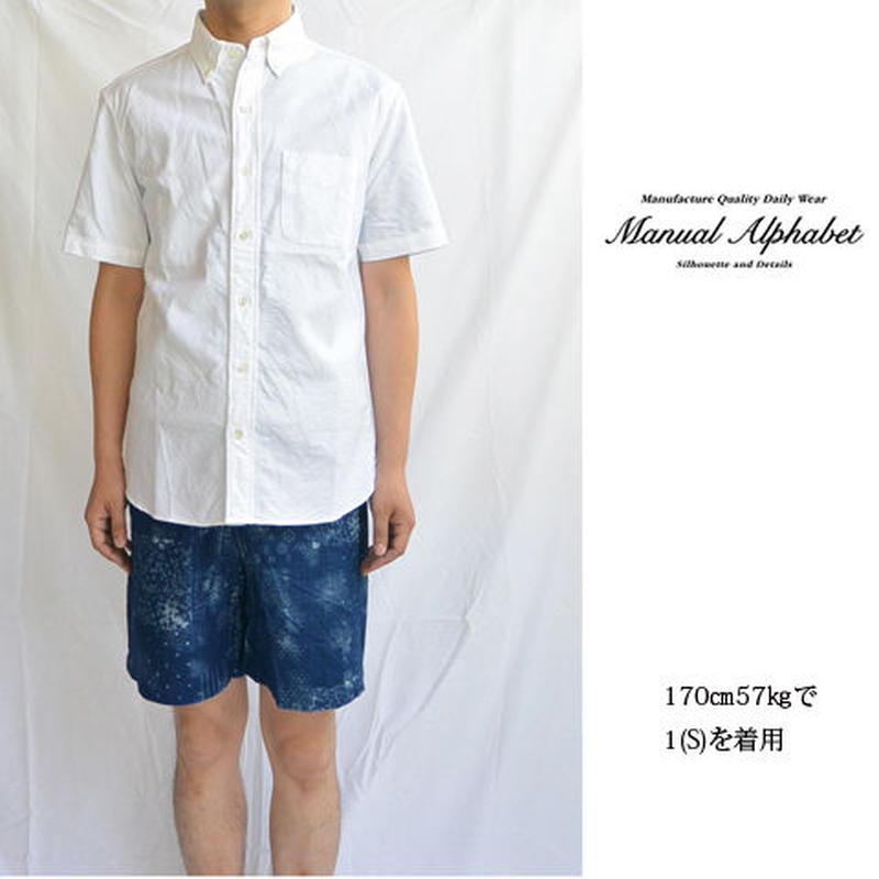 MANUAL ALPHABET マニュアルアルファベット BSC-AMC-007 アメリカンオックス S/S BDシャツ