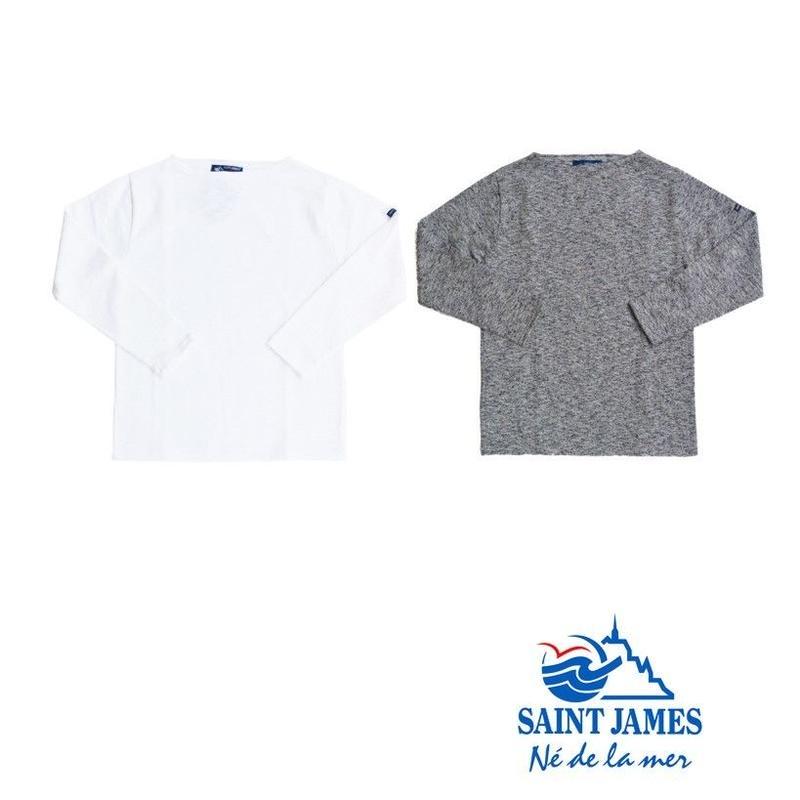 "SAINT JAMES セントジェームス OUESSANT MELANGE ウエッソン ""ミックス杢素材【正規取り扱い品】"