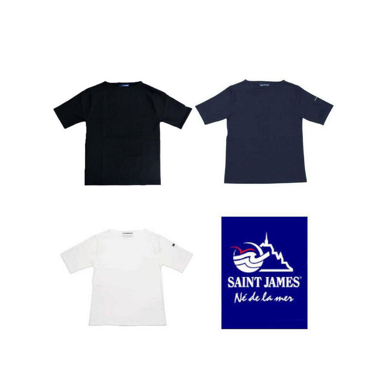 SAINT JAMES(セントジェームス)PIRIAC 無地半袖 【正規取扱品】UNISEX