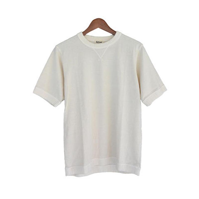 Jackman   ジャックマンJM5730  US Cotton Vintage dye- T  Off White
