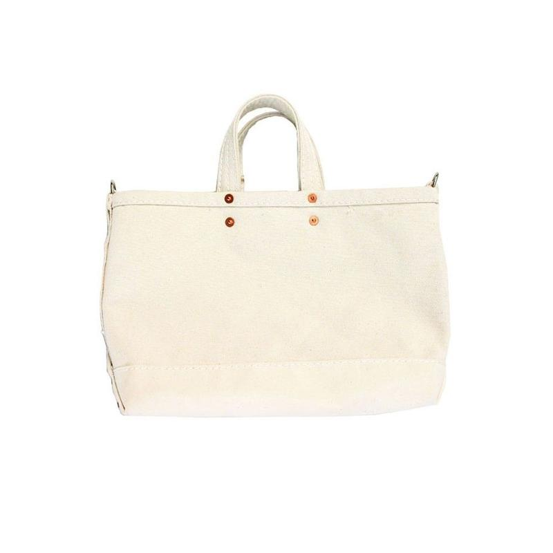 P.T WORKS & DESIGN TOOL (CANVAS) WHITE(M)