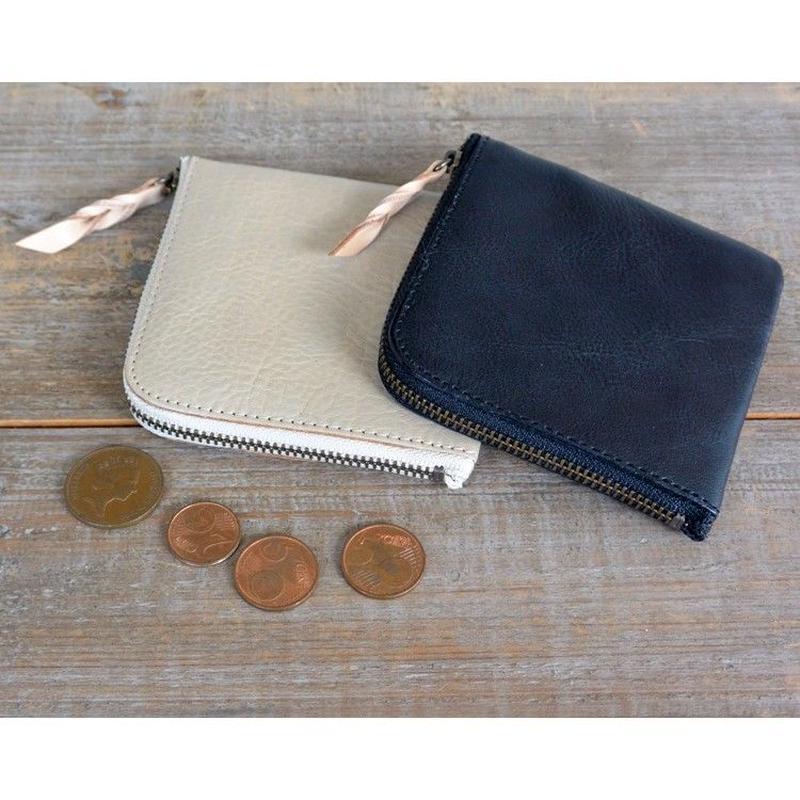 MARINEDAY AGE SHRUNKレザー ミニ財布