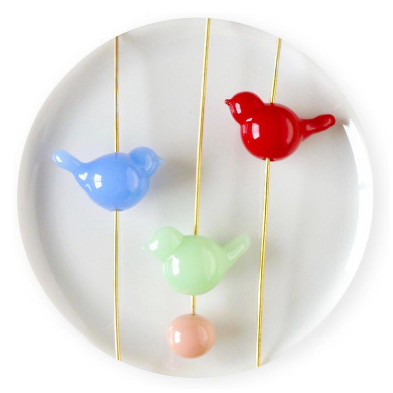 Simple Bird Bead・ことりビーズ (col.カラーオーダー)