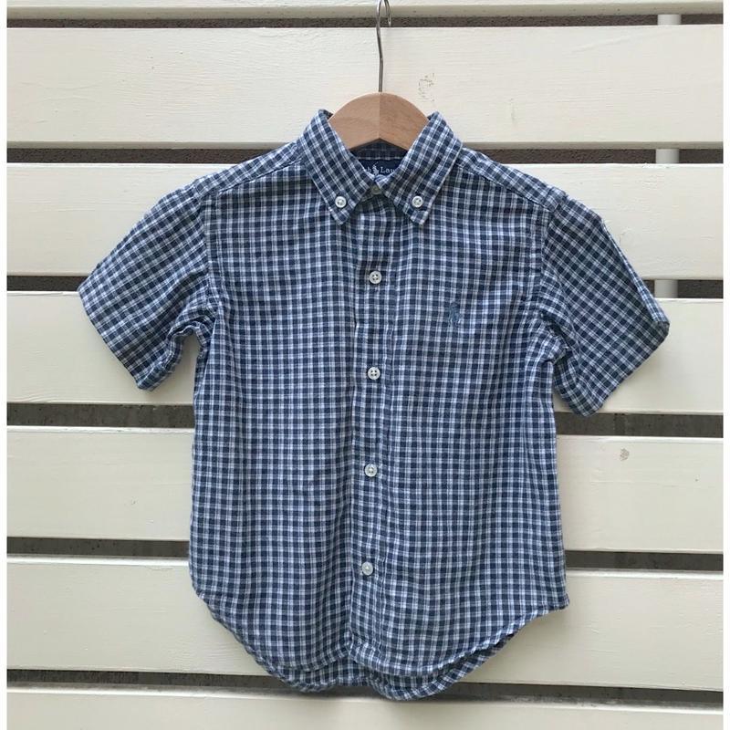 549.【USED】Ralph Lauren Check Shirt