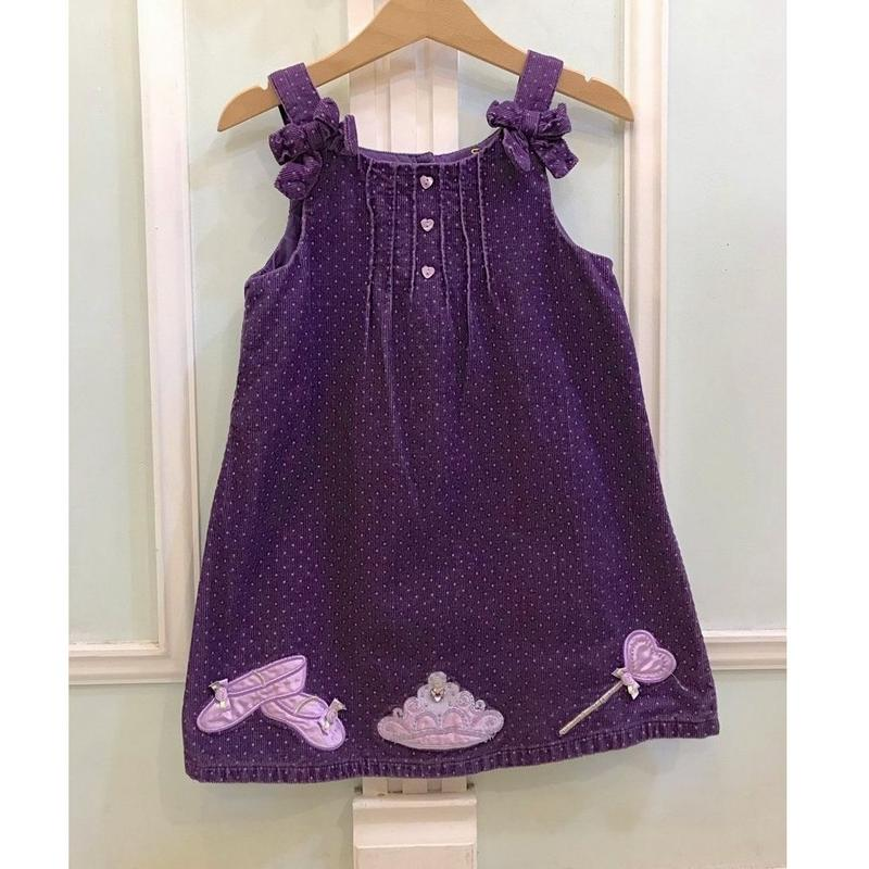 311.【USED】Purple Princess Dress