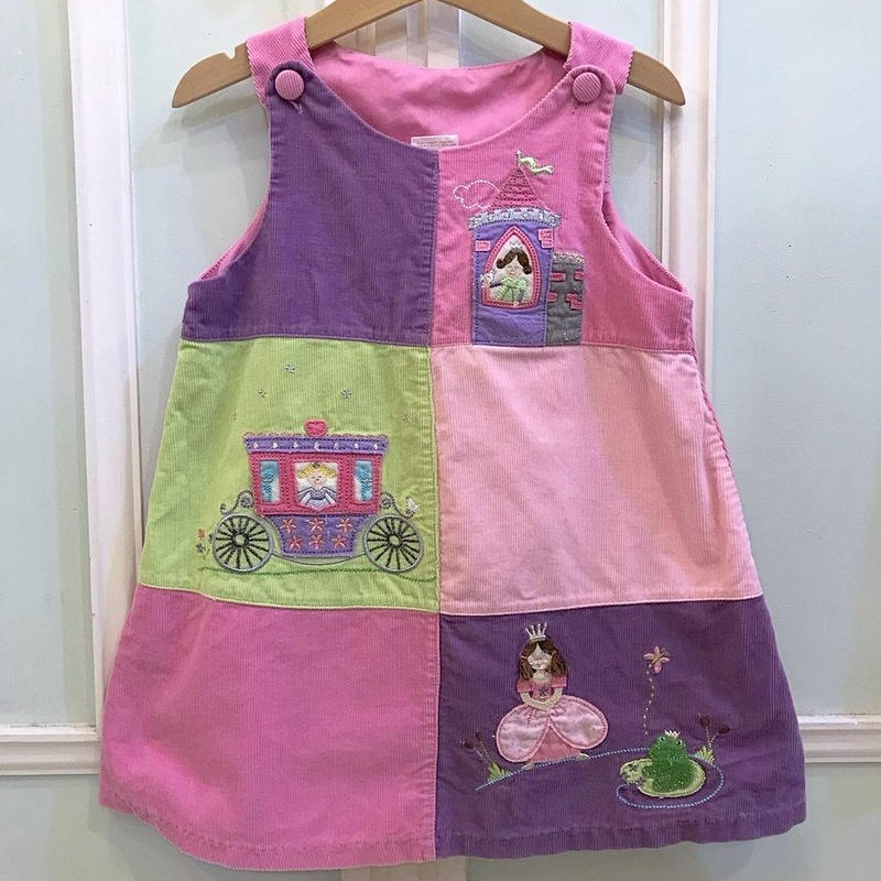 312.【USED】Purple & Pink Princess Dress