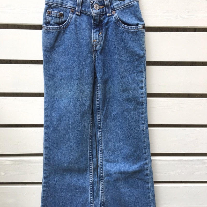 "【USED】""Levi's""  Denim long pants"
