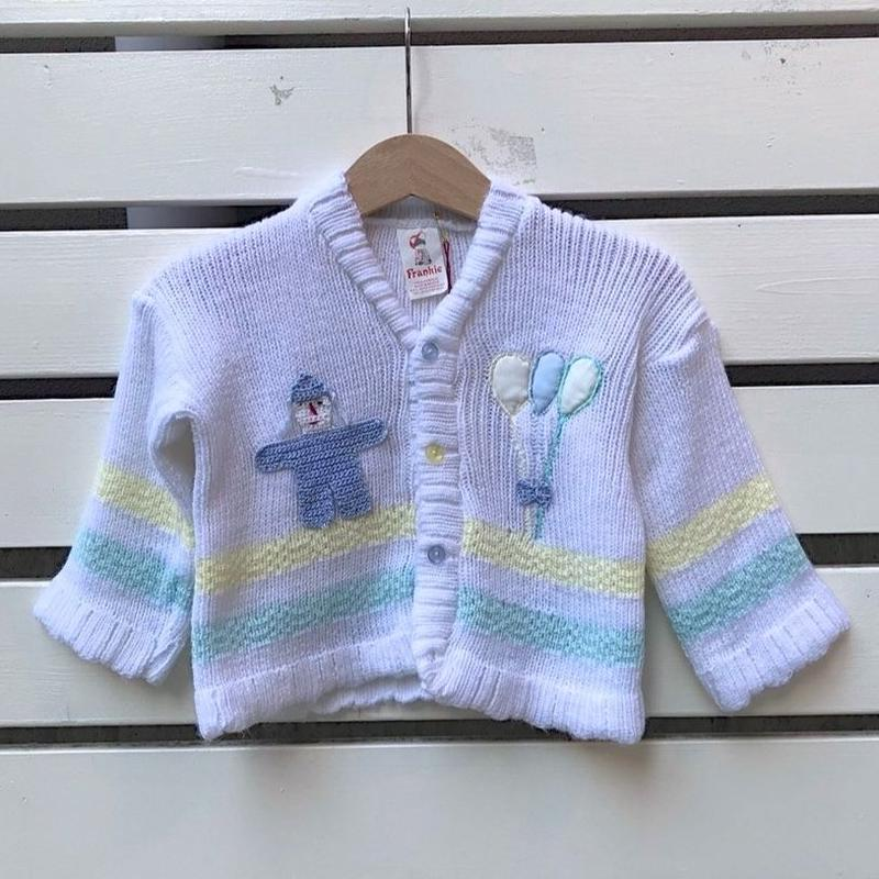 481.【USED】Human Balloon Knit Cardigan