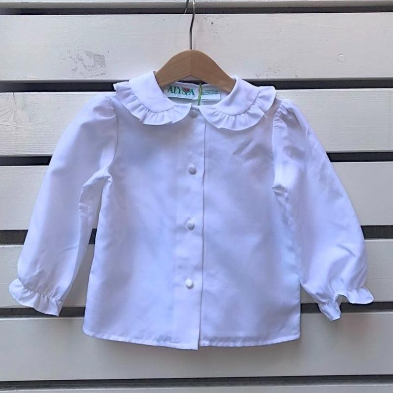 437.【USED】Frill Collar Blouse
