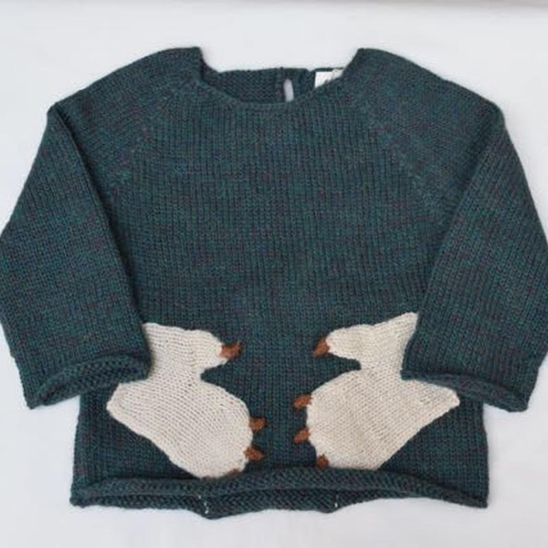 □【oeuf】Monster Sweater /Forest.greens