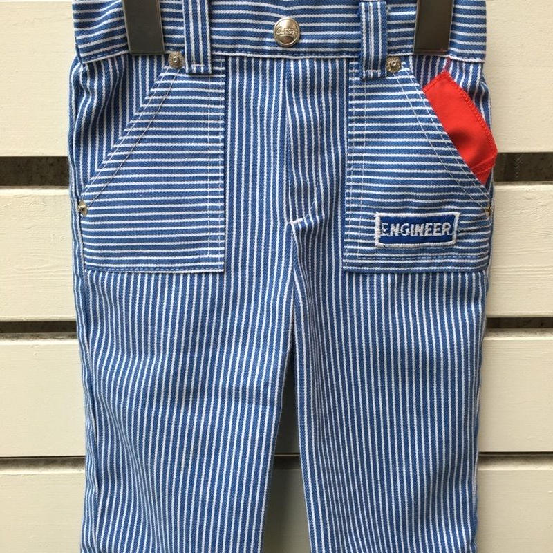 "69.【USED】OLD "" Carters"" Hickory stripe pants ( Made in U.S.A.)"