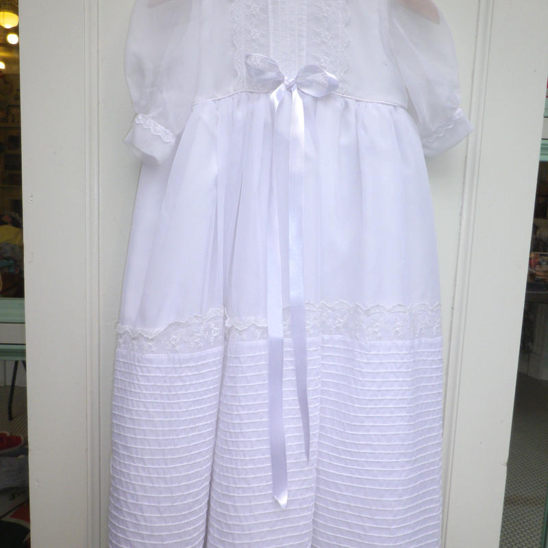 175.【USED】Formal White Long Dress
