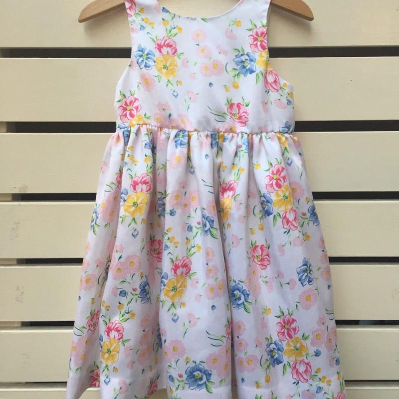 98.【USED】Multi Flower Formal Dress