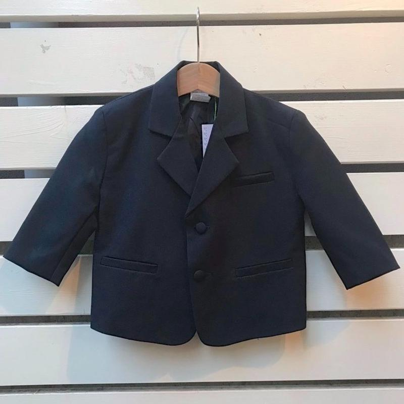 449.【USED】Navy Walnut button  formal jacket