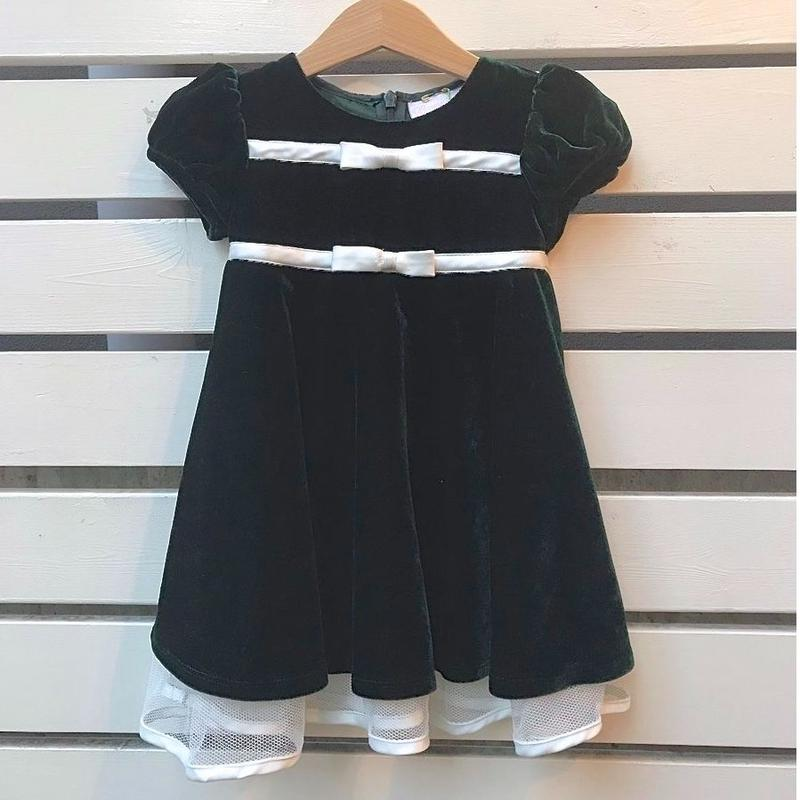 464.【USED】Ribbon Frill  Dress