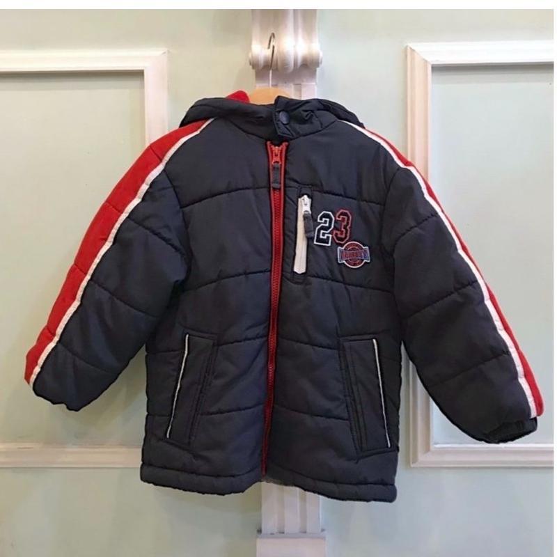 378.【USED】23 Wappen Down Jacket