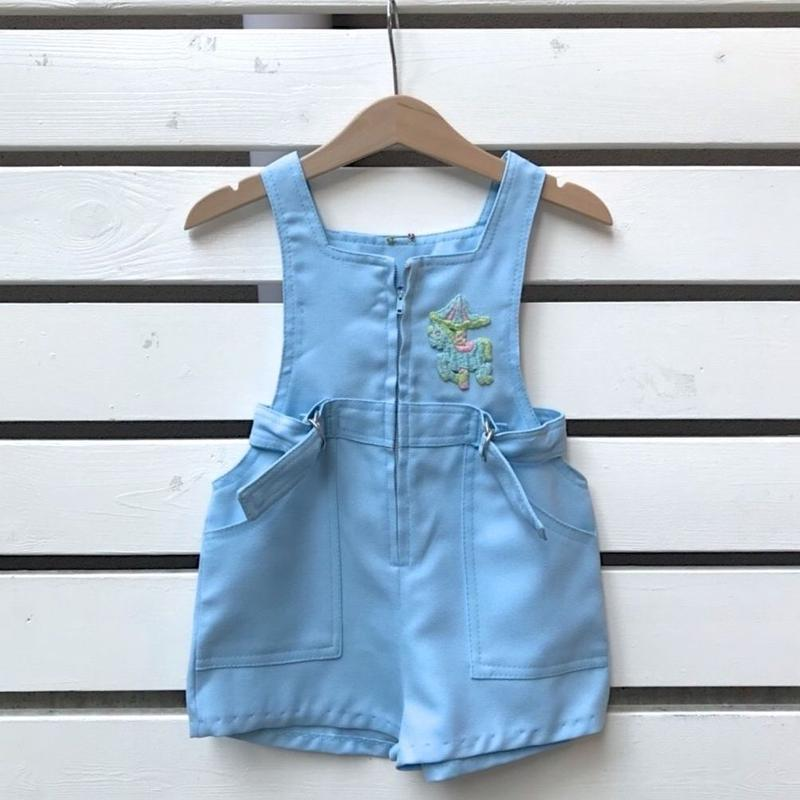 44.【USED】Vintage merry go round design  Overall