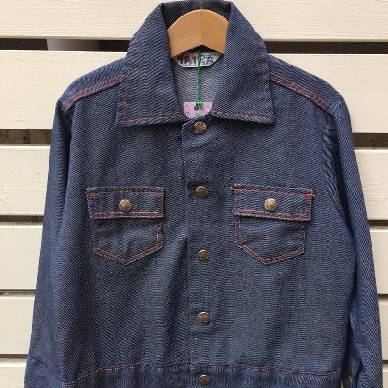 """68.【USED】Vintage """"Health-tex"""" Denim jacket ( Made in U.S.A.)"""