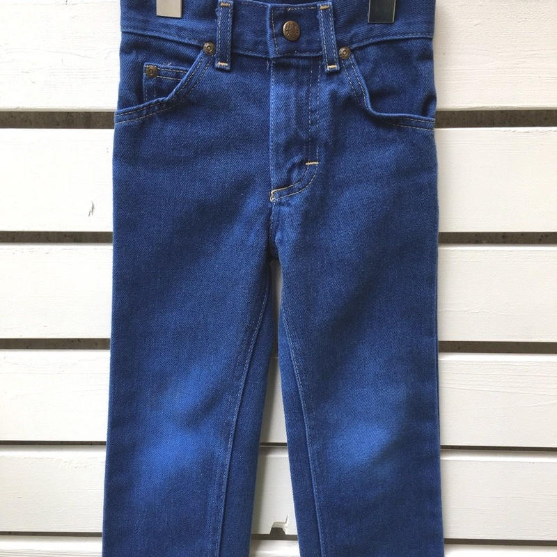 "80.【USED】""Lee"" Denim long pants ( made in U.S.A.)"