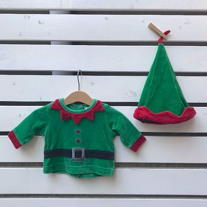 348.【USED】Green  child  Tops
