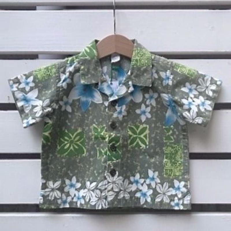 559.【USED】Summer Flower  Hawaiian Shirts
