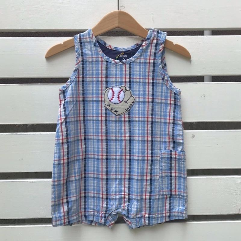 538.【USED】Baseball Rompers