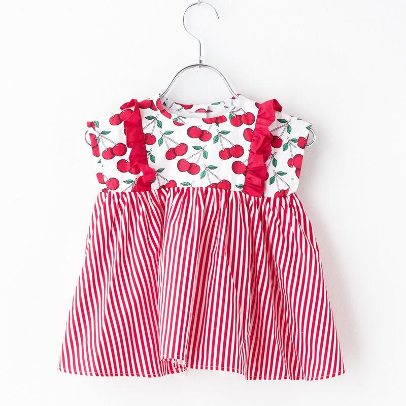 cherry red dress