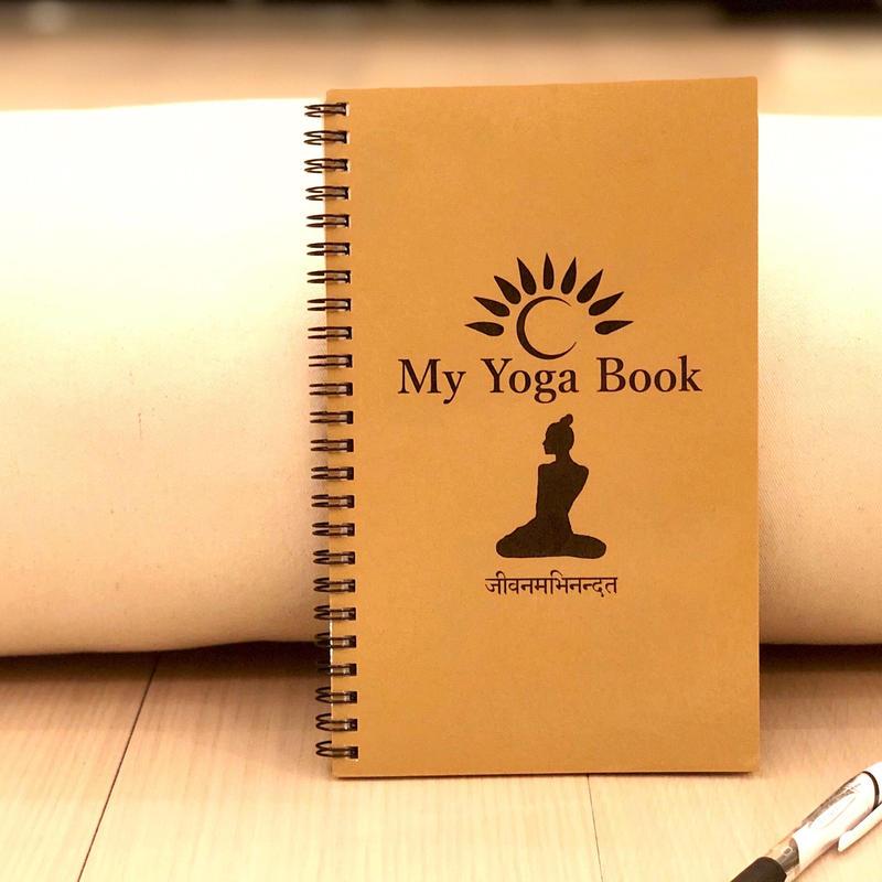 【リニューアル版】My Yoga Book 2冊 BROWN