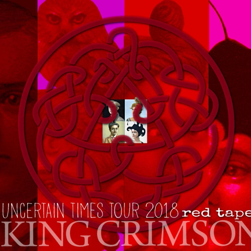 King Crimson 【Uncertain Times Tour 2018 red tapes】 (DVD&CD)