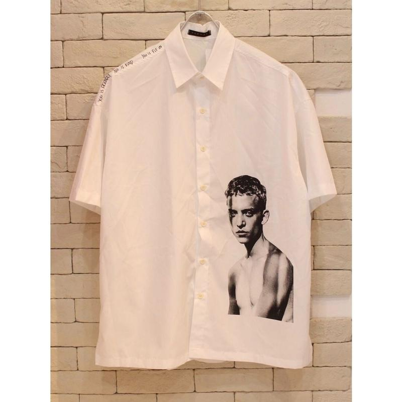S/S BOY SHIRTS WHITE