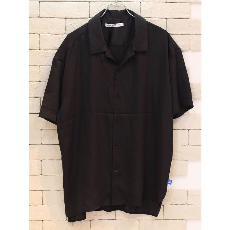 S/S SATIN SHIRTS BLACK