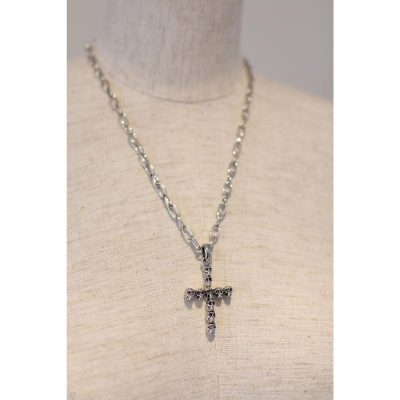 CHAIN NECKLACE SKULL