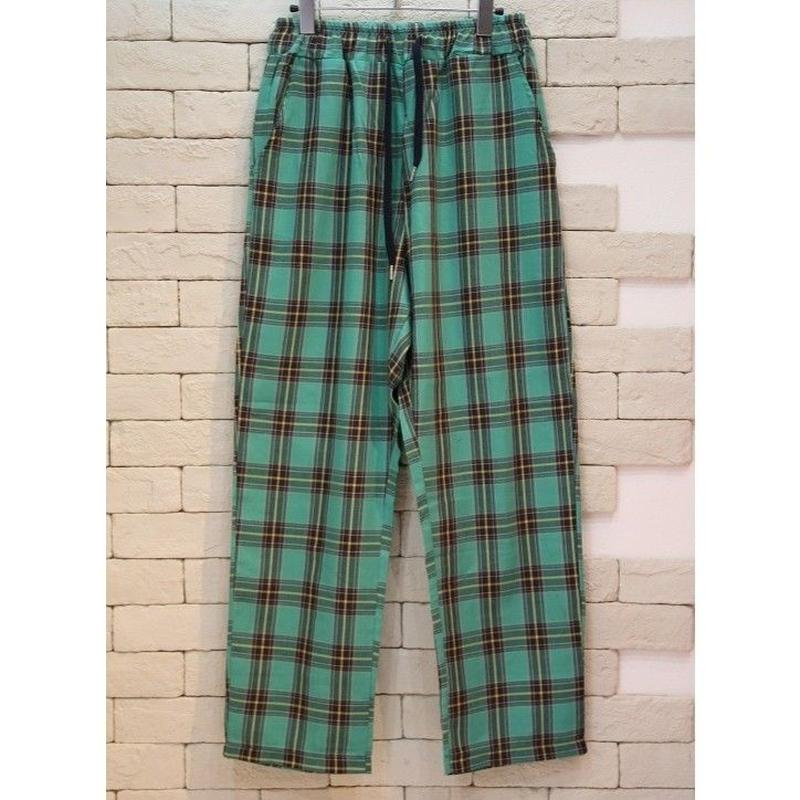 CHECK E-Z PANTS  GREEN