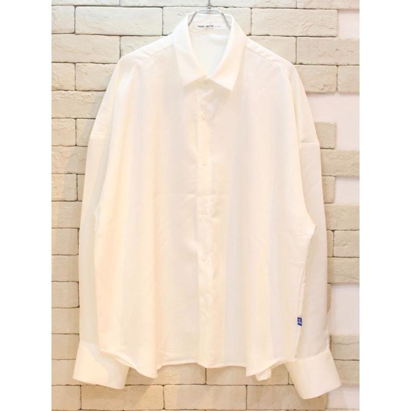 L/S SATIN SHIRTS WHITE