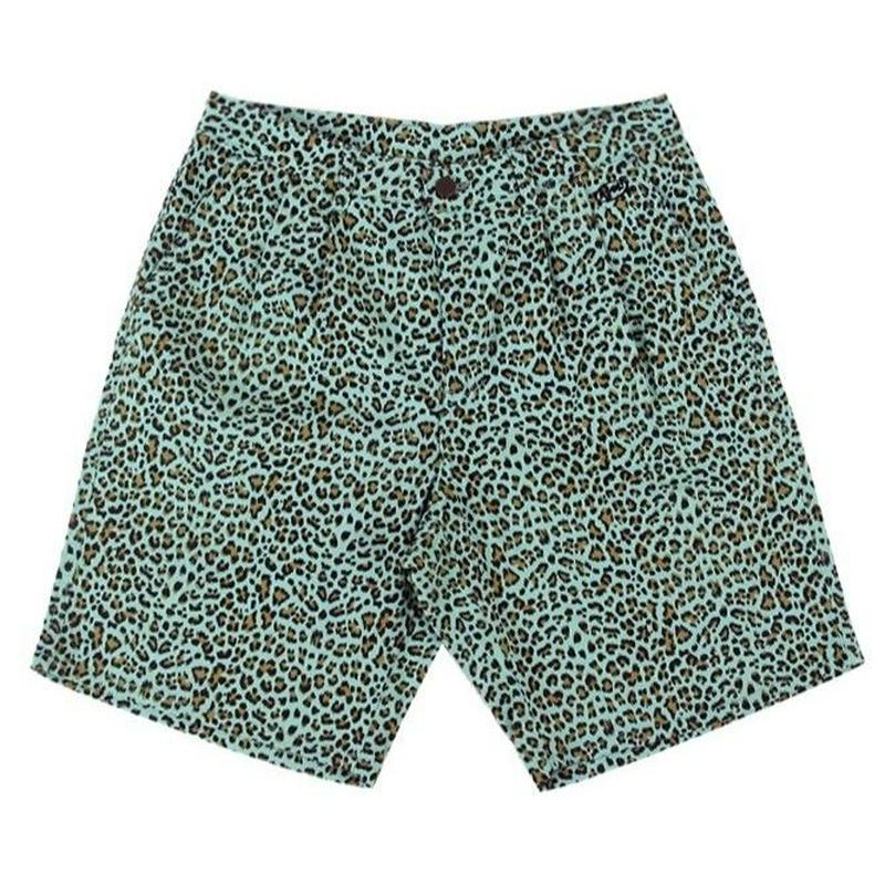 APOC LEOPARD SHORTS MINT