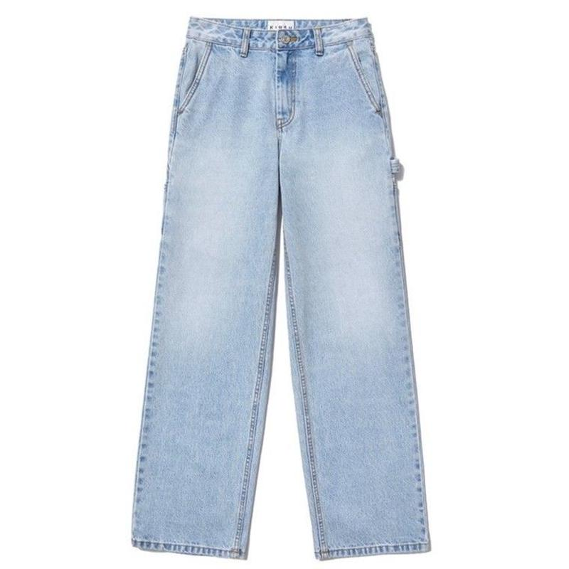 KIRSH CARPENTER PANTS BLUE