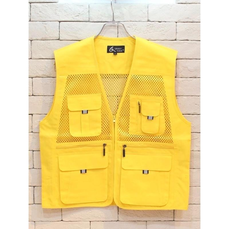 FISHING VEST GOLD  -C-