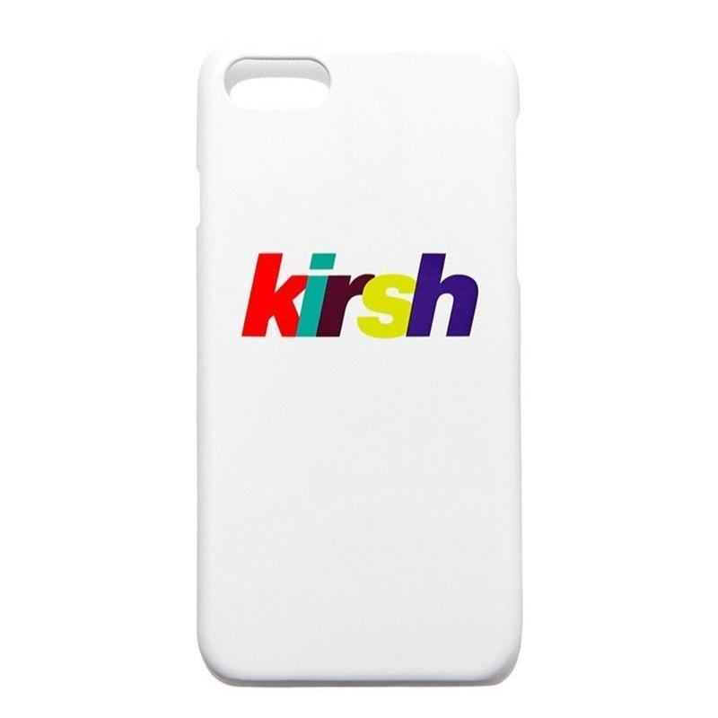 KIRSH RAINBOW LOGO PHONE CASE WHITE