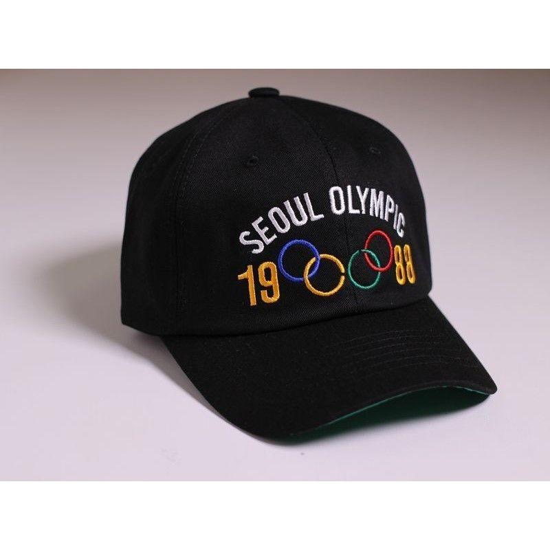 SEOUL OLYMPIC CAP BLACK