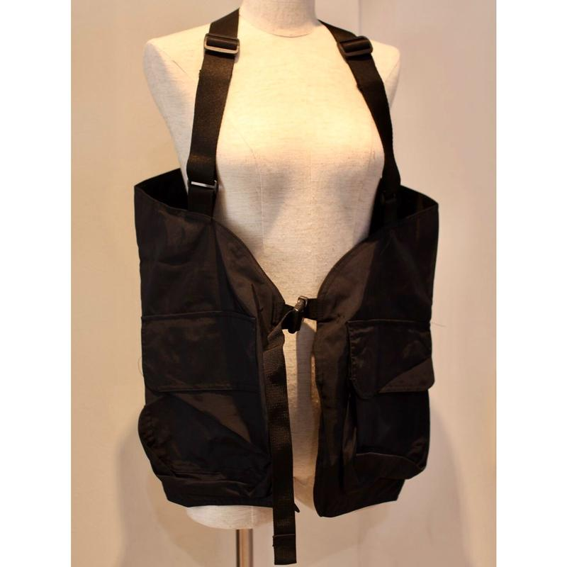 TECK WEAR VEST BLACK