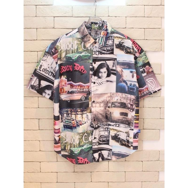 S/S PHOTO COLLAGE SHIRTS